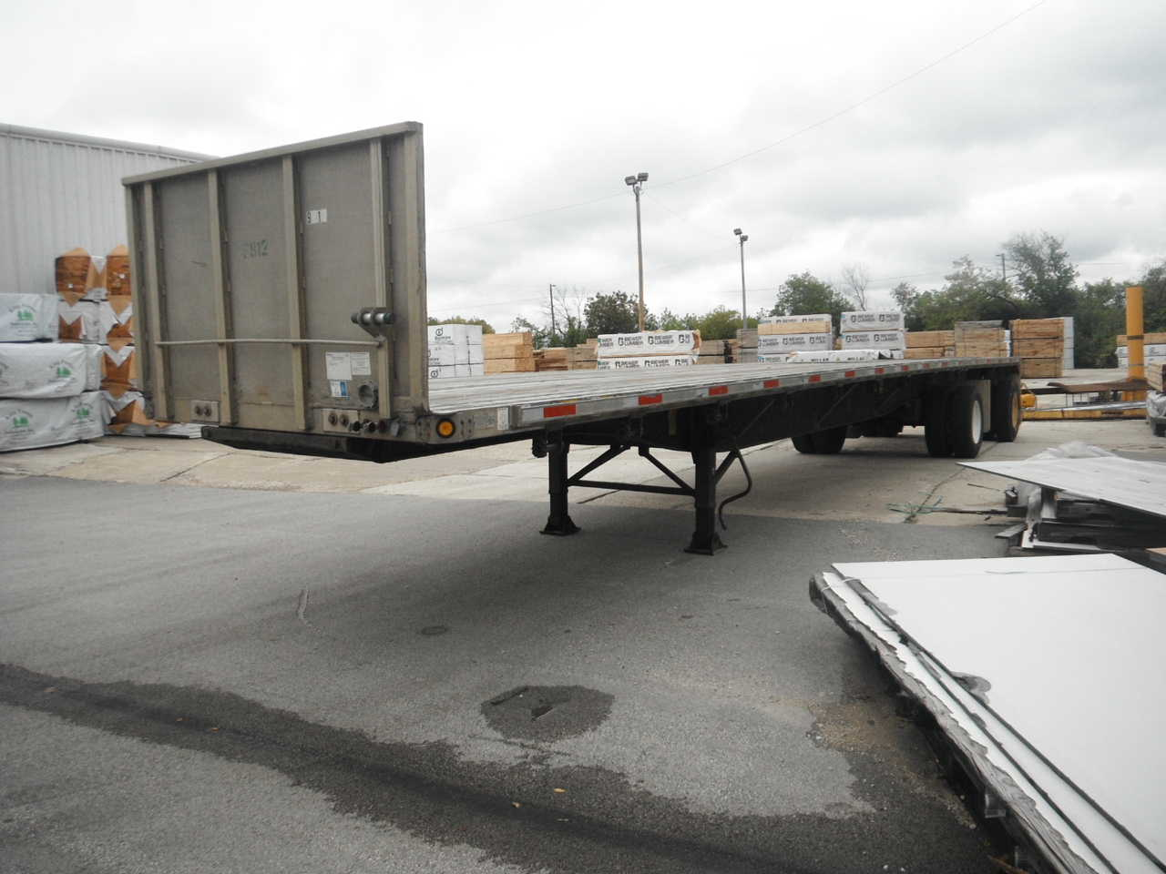 1998 UTILITY FLATBED (USED Trailer)