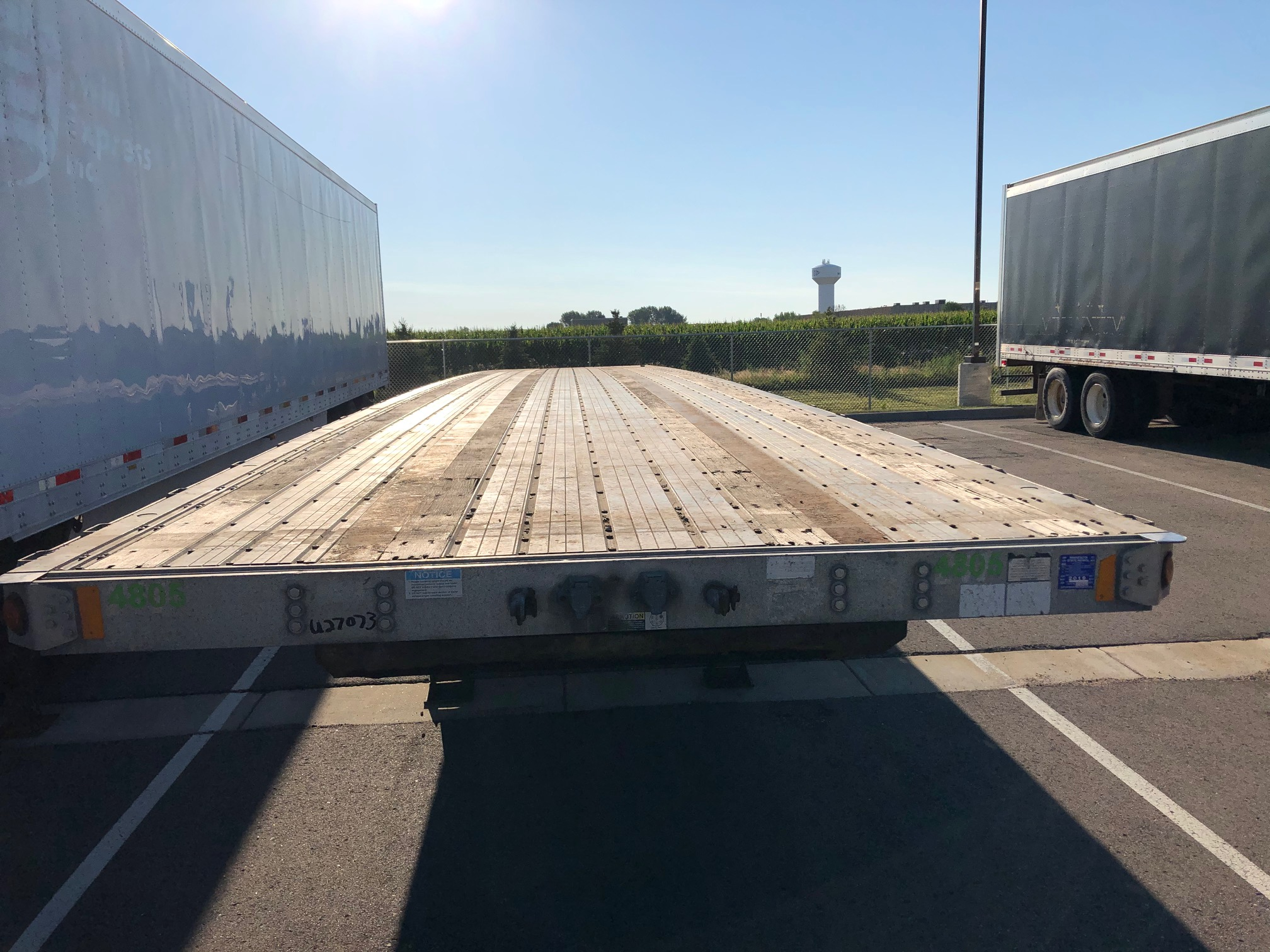 2006 FONTAINE FLATBED (USED Trailer)
