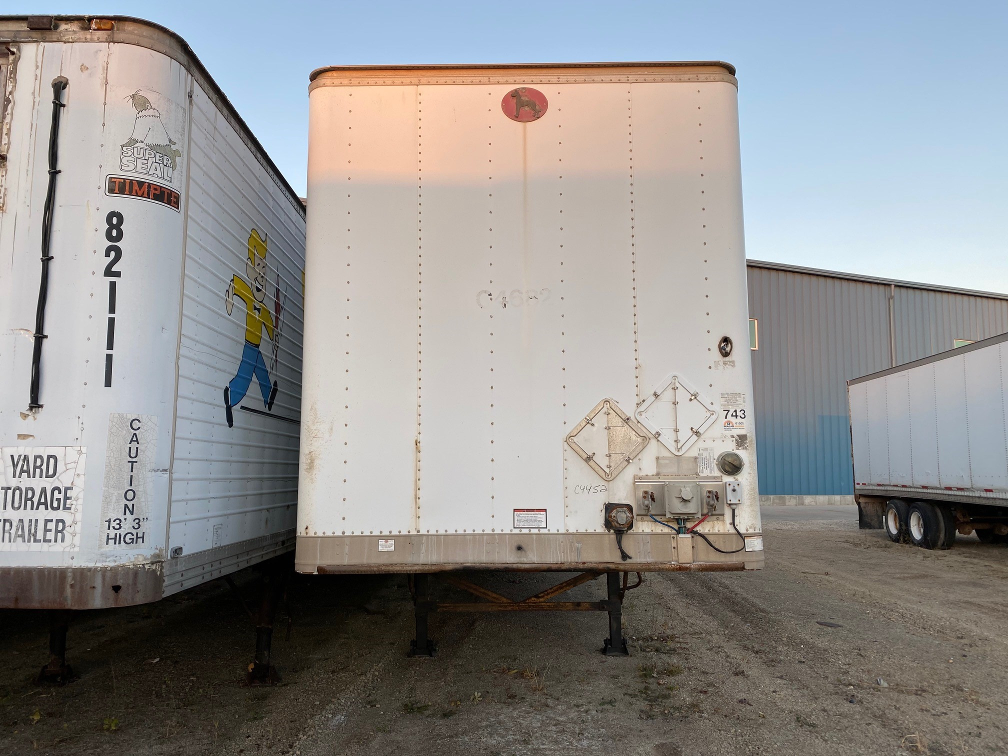 2011 GREAT DANE DRY VAN (USED Trailer)